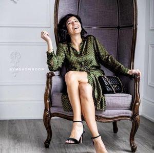 Zara Dresses - ZARA Chain link midi dress
